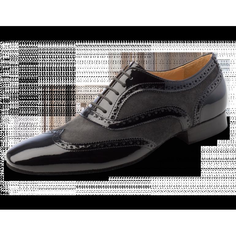 Domingo Nueva Epoca - Chaussure de danse Homme grises et noires