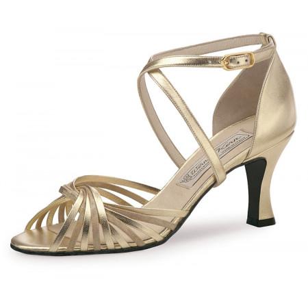 Mary Werner Kern - Chaussure de danse en cuir platin/beige