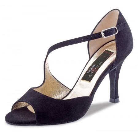 Hermosa Nueva Epoca - Chaussure de danse daim noir