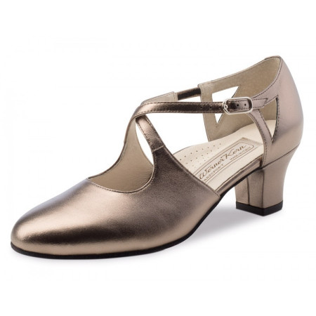 Gala Werner Kern - Chaussures de danse fermée en cuir antik