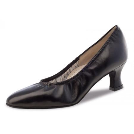 Laura Werner Kern - Chaussures de danse pour femmes en cuir noir
