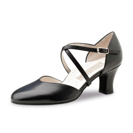 Layla Werner Kern - Chaussures de danse pour femmes en cuir noir