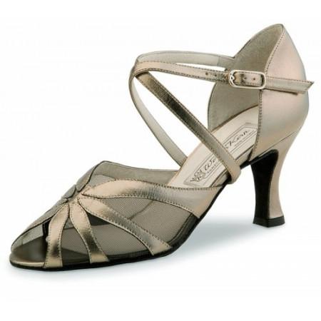 Liz Werner Kern - Chaussures de danse pour femmes en cuir noir