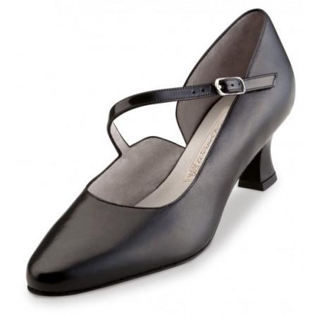 Rita Werner Kern - Chaussures de danses pour femmes en cuir noir