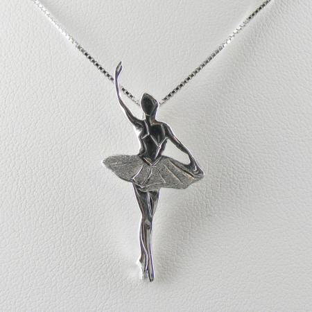 Pendentif ballerine Jewel Relevè