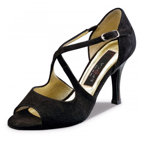Joy Nueva Epoca - Pieds Fins - Chaussures de danse en cuir suede noir