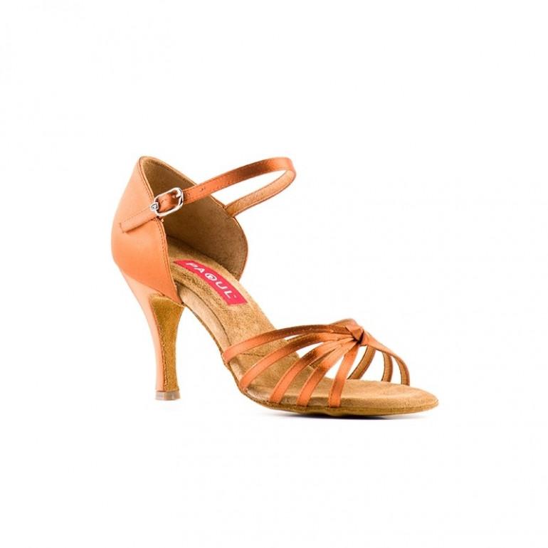190 Paoul - Chaussures de danse latines à lanières croisées