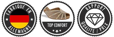 Chaussures de danse cou de pied fort en cuir noir, talons 2cm