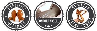 Chaussures de danse stables