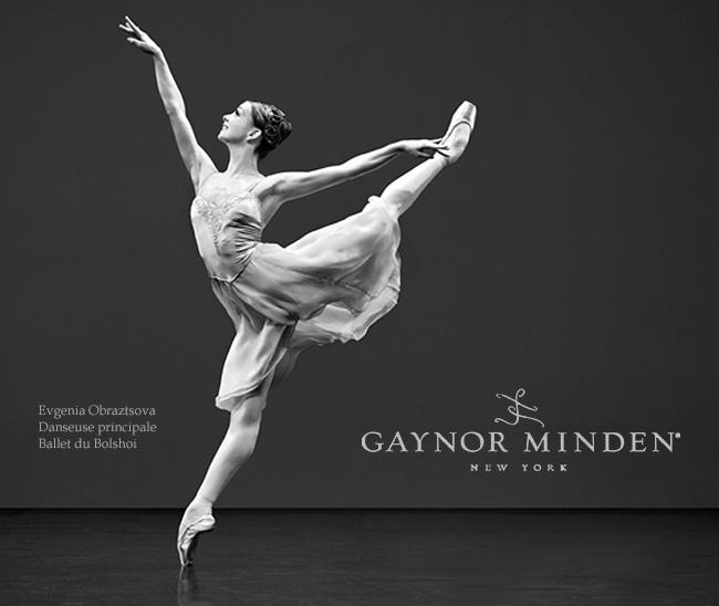 Gaynor Minden New York pointes et matériel danse classique