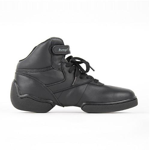 Basket style sneaker de danse montante de la marque Rumpf. Semelle partagée. Modèke 1444 à lacets pour tout style de danse.