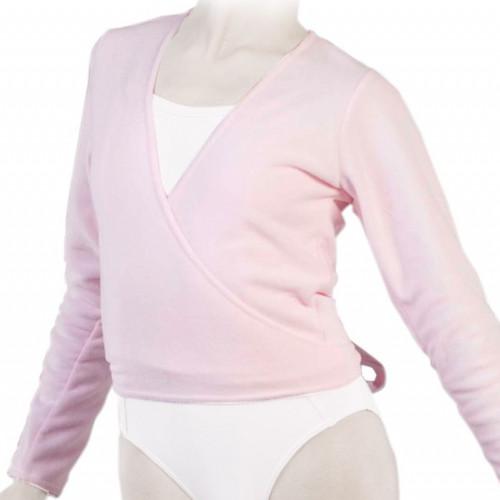 Cache-cœur de danse pour petite fille de la marque Repetto. Couleur rose.