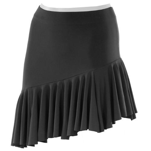 Jupes de danse latine de la marque Intermezzo. Pour femmes ou pour enfants (filles). Coloris Noir