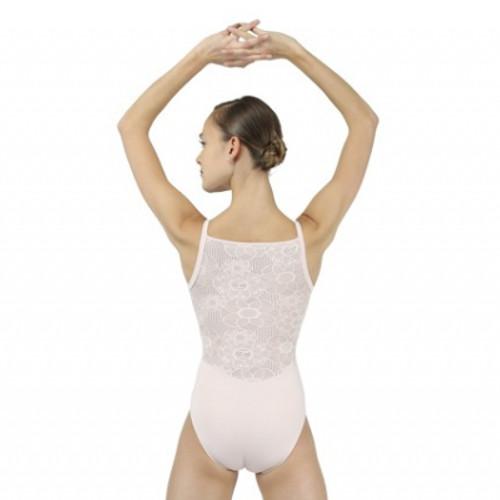Justaucorps de danse classique pour femmes de la marque Repetto. Modèle à dentelles dans le dos et fines bretelles.