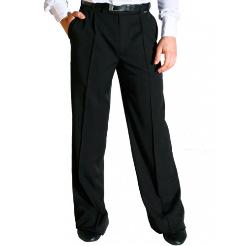 Pantalon de danse de salon pour hommes de la marque Maly Design. Pantalons avec poches.