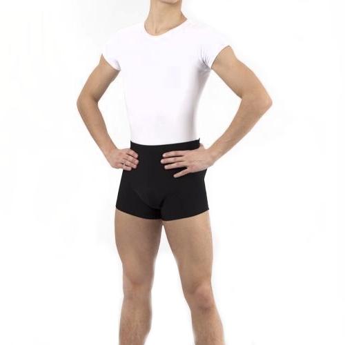 Shorts de danse noir pour hommes de la marque Grishko.