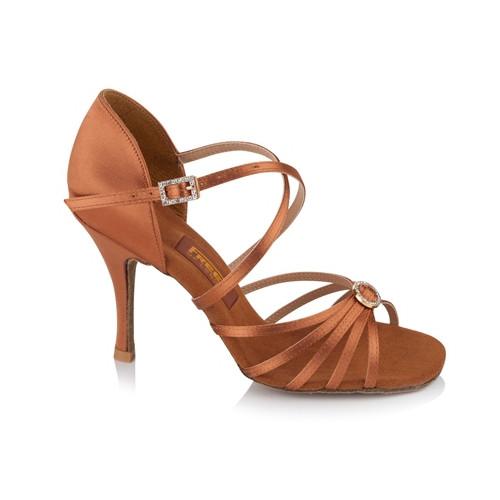 Chaussures de danse sportive (latine) pour femmes de la marque Freed of London. Modèle Sophia avec talon de 6,5 ou 7,5 cm.