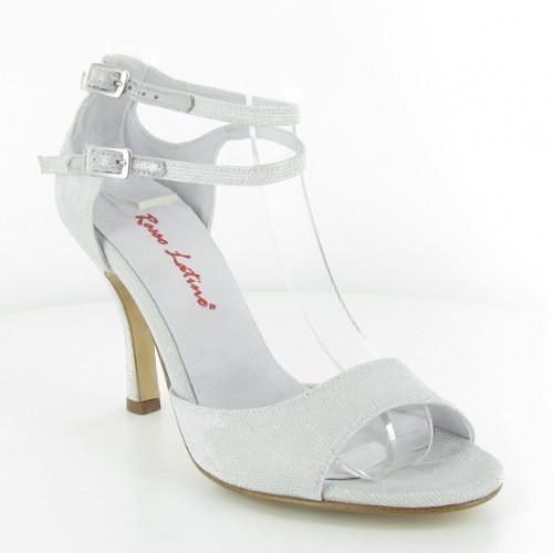 Chaussures de mariage blanche pour femmes à personnaliser de chez Rosso Latino. Modèle Stefy à personnaliser. Talon : de 5 à 8cm.