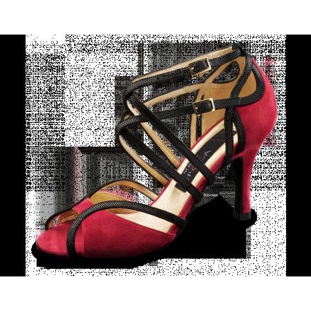 Cosima Nueva Epoca - Chaussure de danse rouge semelle de ville