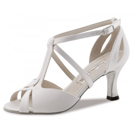 Francis Werner Kern - Chaussure de danse satin blanc
