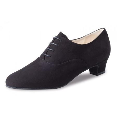 Olivia Werner Kern - Chaussure de danse à lacet en cuir suède
