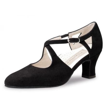 Gala Werner Kern - Chaussures de danse pour femmes en cuir velours