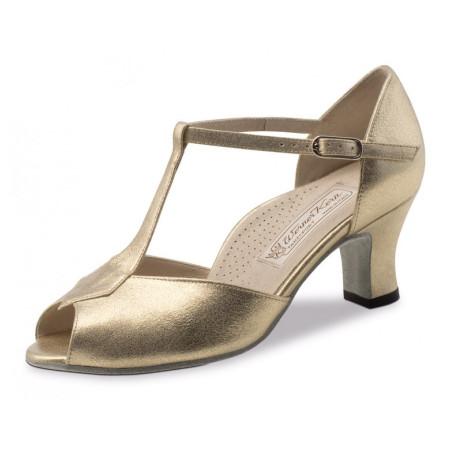 Paulette Werner Kern - Chaussures de danse pour femmes en perle nude