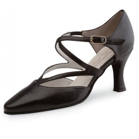 Fabiola Werner Kern - Chaussures de danses pour femmes en cuir noir
