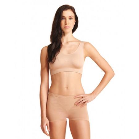 Short pour femme en couleur nude