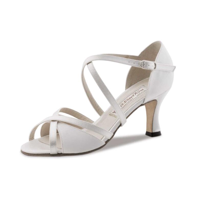JULY Werner Kern - Chaussure de Mariage en Satin Blanc