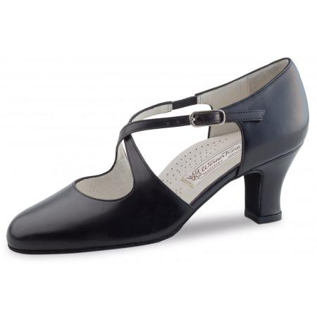 Gilian Werner Kern - Chaussures de danse fermée en cuir noir