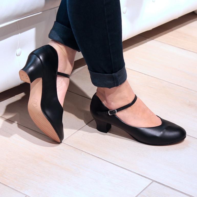Chaussures de danse de Caractère à talon 4 cm - Capezio