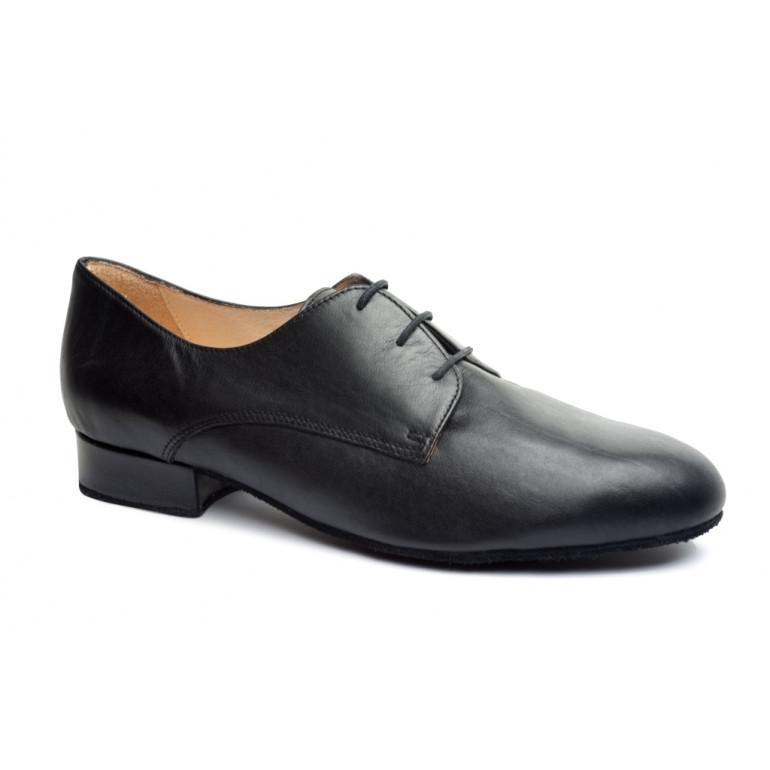 Herold - Chaussure de danse pour homme en cuir noir
