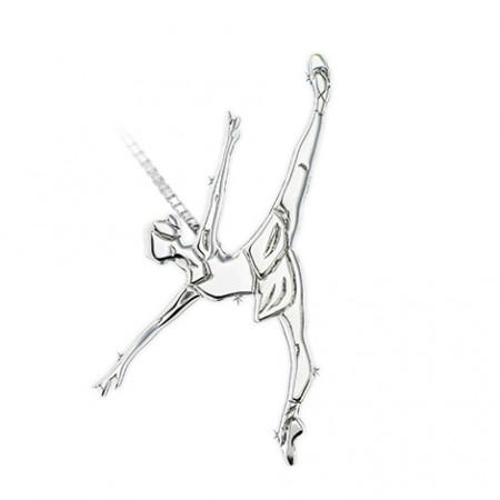 """Collier danseuse """"penché"""" - Mikelart"""