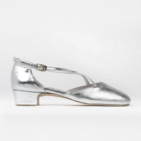 Chaussure de danse argentée Broadway de la marque Rumpf