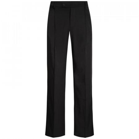 OSLO - Pantalon de danse de salon à pinces avec poches et passants pour la ceinture homme