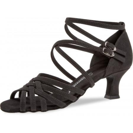 108 Diamant - Chaussures de danse pour pieds fins en microfibre à talons 5cm