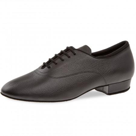 134 Diamant - Chaussures de danse homme en cuir, laçage 5 trous et talons 2,5cm