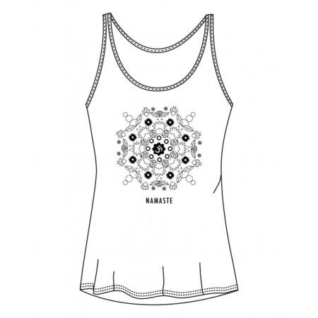 "Debardeur de yoga/fitness logo "" NAMASTE "" - Almeria Namaste - TempsDanse"