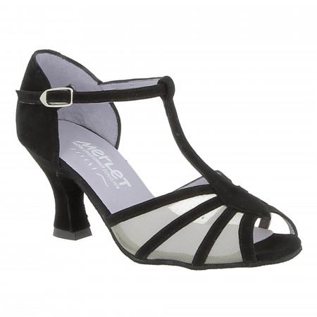 Chaussure de danse de salon en cuir nucuck - Merlet