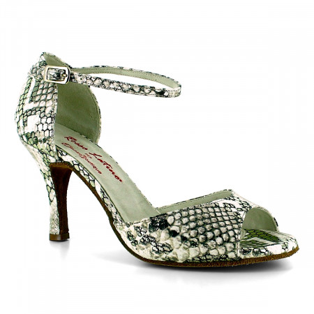 Malen - Chaussure de danse en cuir effet python