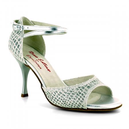 Tessa - Chaussure de danse argentée