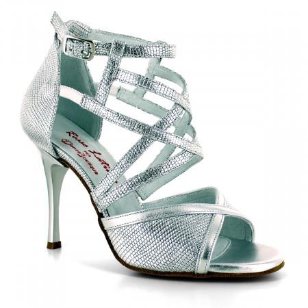 Manu - Chaussure de danse argentée