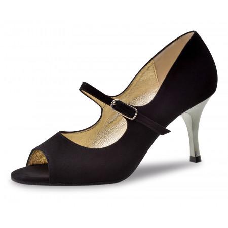 Frida Nueva Epoca - Chaussure de danse en nubuck noir
