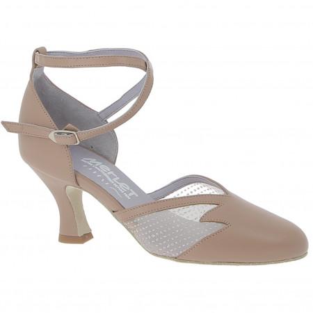 Chaussure de danse en nubuck et résille - Cholet