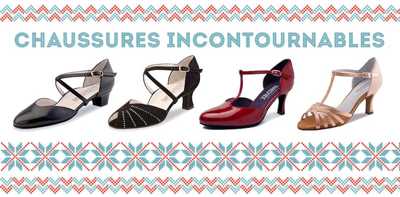 Valeurs sûre, voici les basics en chaussures de danse, confort et élégance